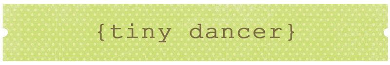 Tiny dancer title