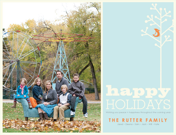 Holiday Card Sample