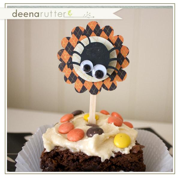 Drutter-spider-cupcake