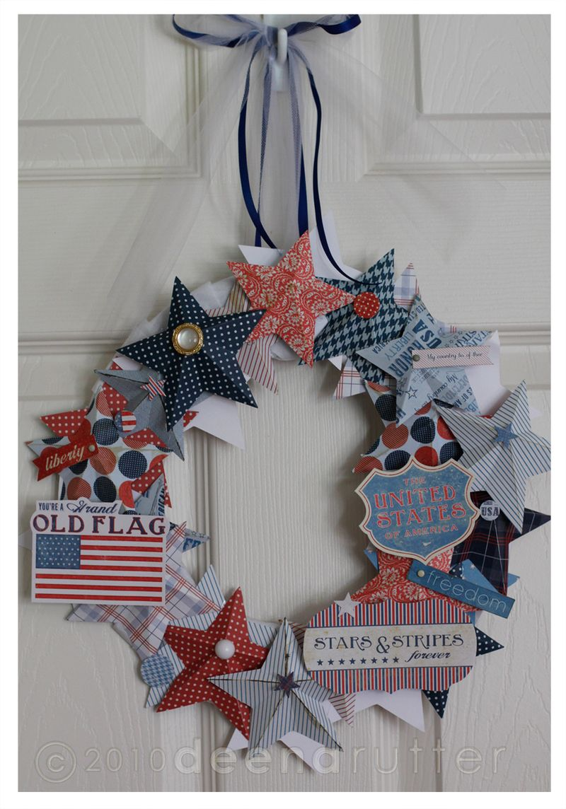 American made wreath