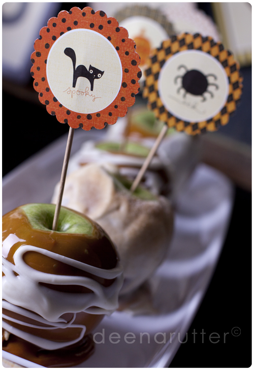 Superstition cupcake toppers