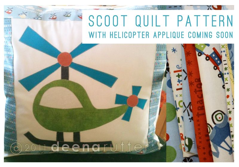 Drutter-scootfabric-pillow